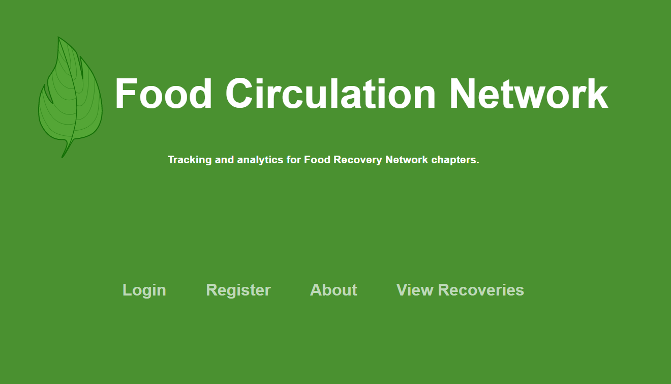 Food Circulation Network Screenshot
